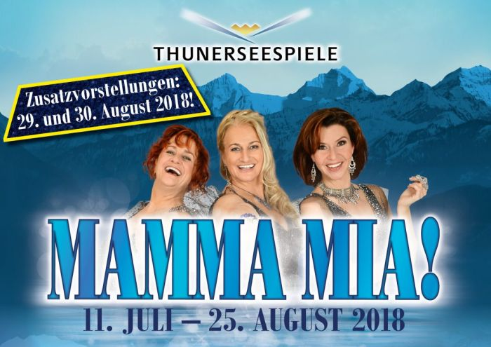 MAMMA MIA! am Thunersee