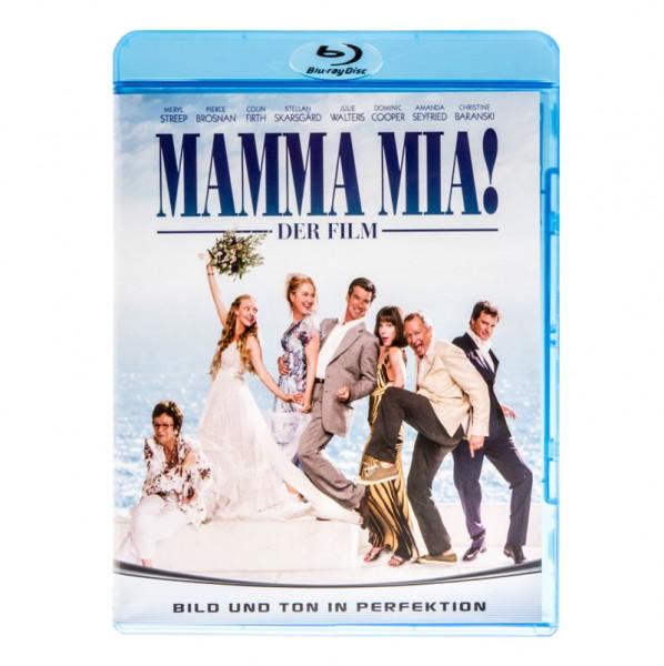 Mamma Mia! Blu-ray DVD - Ansicht vorne