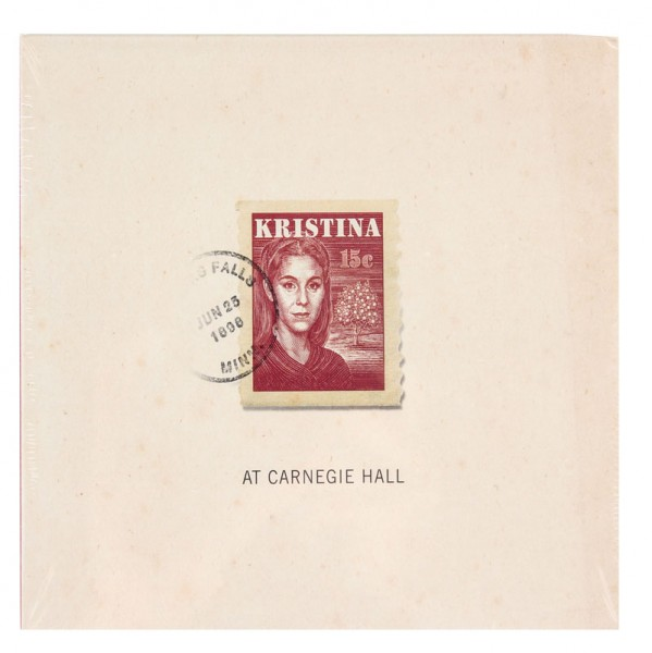 Kristina at Carnegie Hall