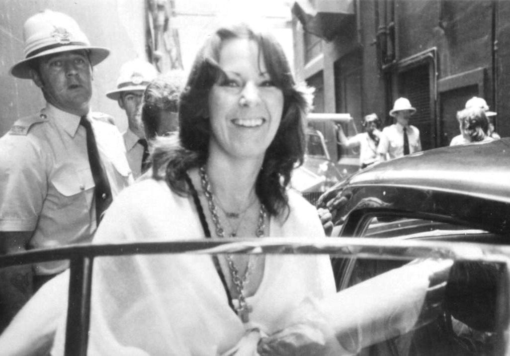 Frida zur Australien-Tour 1977