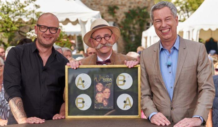 Aktualisierung: Thomas Hermanns und seine ABBA-CDs