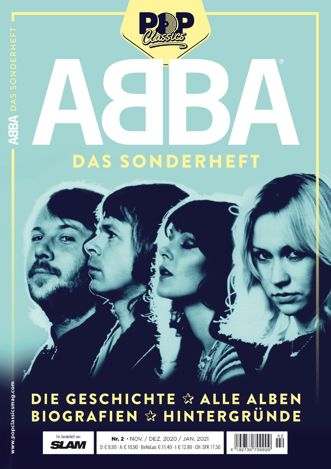 ABBA - neues Sonderheft POP Classics