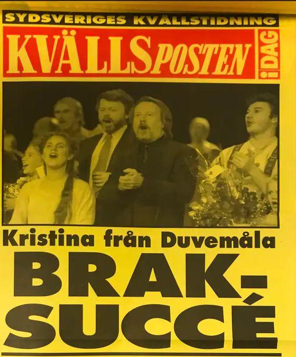 25 Jahre Kristina från Duvemåla