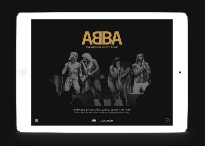 ABBA-Fotobuch für schwedischen Designpreis nominiert
