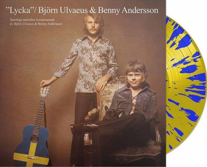 ABBA-LPs auf vordersten Plätzen