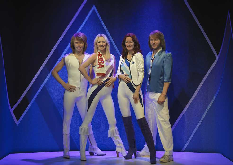 ABBA-Figuren im Museum
