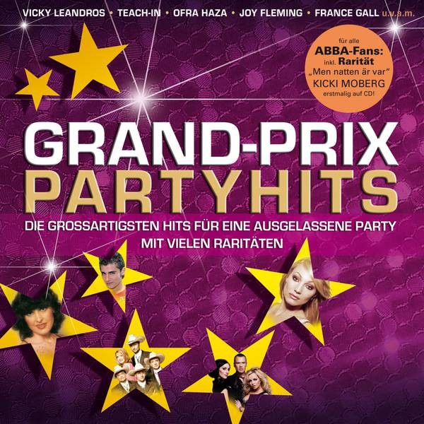 Grand-Prix Partyhits mit Agnetha Komposition