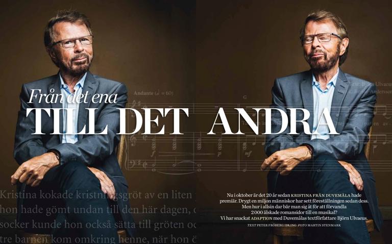 "Björn Ulvaeus in ""Vi"" über ""Kristina"""
