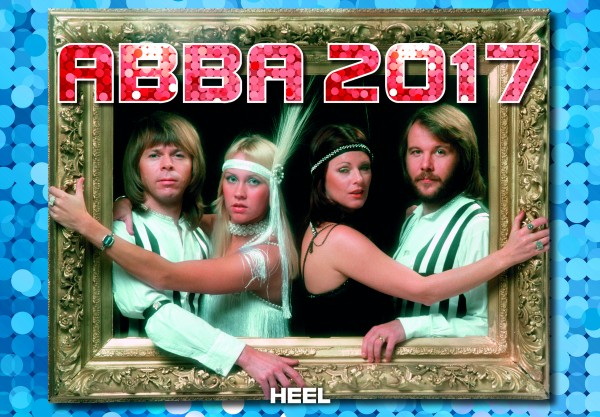 ABBA-Kalender 2017 Deutsch
