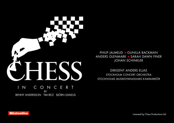 """CHESS in concert"" auf Tournee"