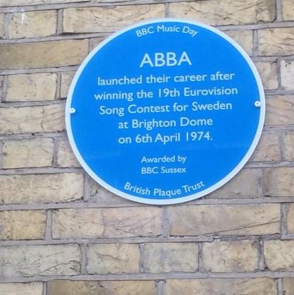 In UK: Blaue Plakette für ABBA