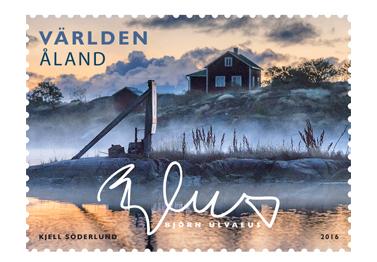 Björn Ulvaeus-Briefmarke