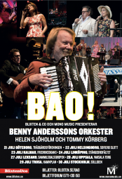 Benny Anderssons Orkester Termine 2016
