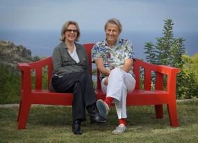 Lars Lerin zu Besuch bei Frida